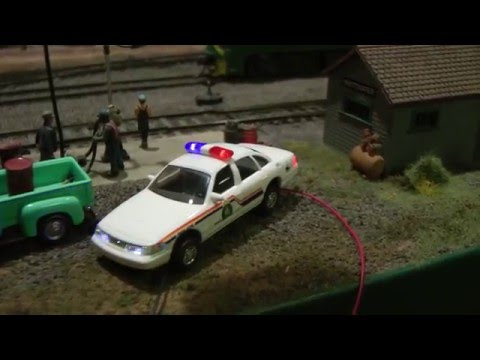 Ho Scale State Police Dodge Charger With Led Lights Doovi