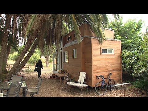 Tiny Homes In San Diego Face Big Hurdles Youtube