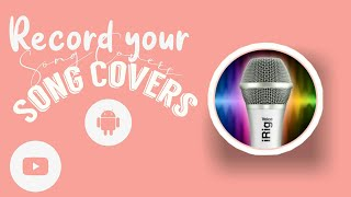 HOW TO RECORD YOUR SONG COVERS USING EZ VOICE screenshot 5