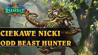 CIEKAWE NICKI - ODD BEAST HUNTER - Hearthstone Decks (Rastakhan's Rumble)