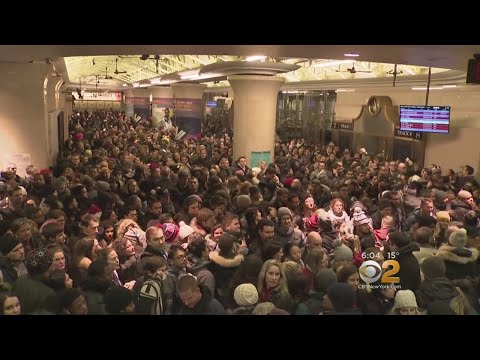 Overcrowding Concerns At Penn Station