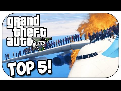 Top 5 CRAZY EXPERIMENTS in GTA 5! (Episode #60)
