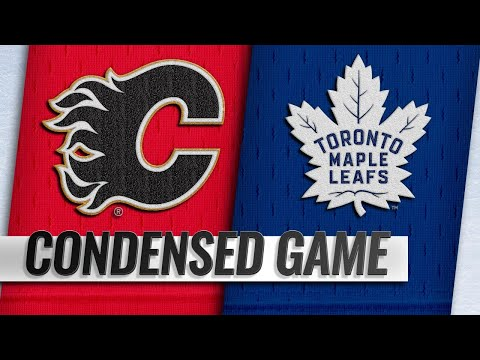 10/29/18 Condensed Game: Flames @ Maple Leafs