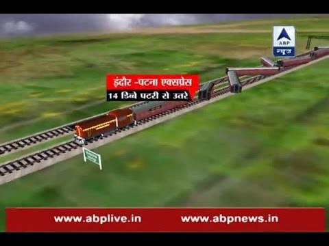 In Graphics: WATCH how Patna-Indore express train derailed