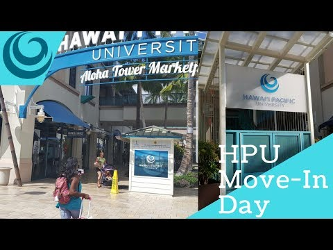 MOVE-IN DAY 2017~ Hawaii Pacific University