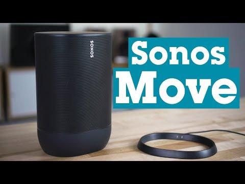 Sonos Move battery-powered wireless speaker | Crutchfield