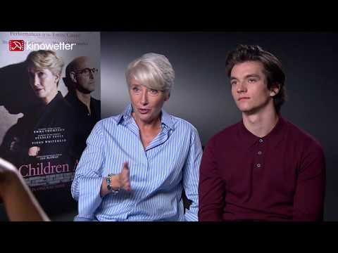 Emma Thompson  &  Fionn Whitehead THE CHILDREN ACT