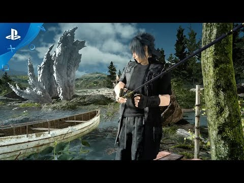 MONSTER OF THE DEEP: FINAL FANTASY XV - Infomercial Trailer | PS VR