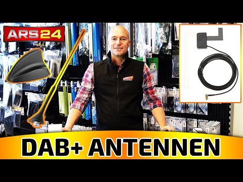 Antenne Digital Radio FM//AM Kombi DAB Antenne SMB Stecker DIN Male Adapter Auto Radio Antenne Splitter Fahrzeug Dachmontage Signal Amplifier 500cm 16.4ft Flexible 23cm MEHRWEG Eightwood DAB