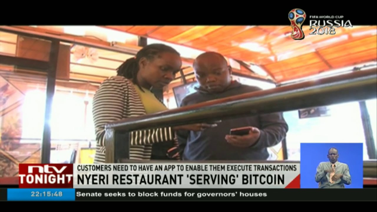 Nyeri restaurant accepts crypto currency as payment for services