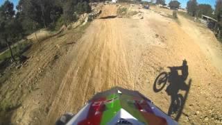 Treino Motocross Pista de Jovim