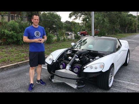 NEVER ENOUGH POWER -  1200HP Twin-Turbo C6 Corvette - Raiti