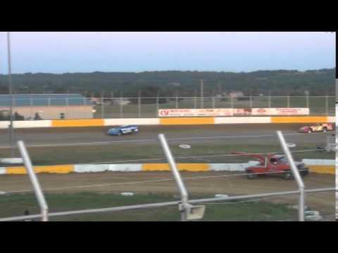 Kinzer Late Model Heat Race Outlaw Motor Speedway 5/10/14