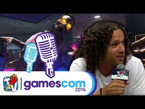 gamescom 2016 | Call Of Duty: Infinite Warfare Zombie Modus - Lee Ross im Interview | 17.08.2016