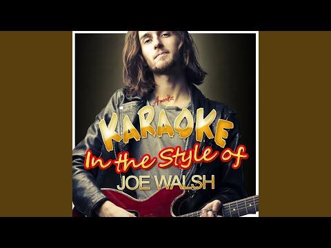 All Night Long (In the Style of Joe Walsh) (Karaoke Version)