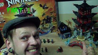 LEGO Ninjago - 70751 - Temple of Airjitzu - Part 1 - Unboxing + Review + Build deutsch