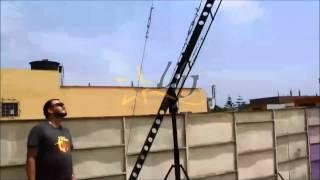 Grúa para cámaras 8 y 10  metros con cabeza y controles Lima- Perú