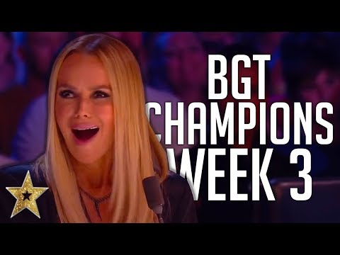 Britain's Got Talent: The Champions Auditions! | WEEK 3 | Got Talent Global
