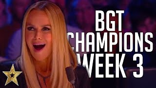 Britain's Got Talent: The Champions Auditions! | WEEK 3 | Got Talent Global