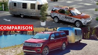 2017 Land Rover Discovery vs 2018 Ford Expedition Trailer Backup Assist Comparison