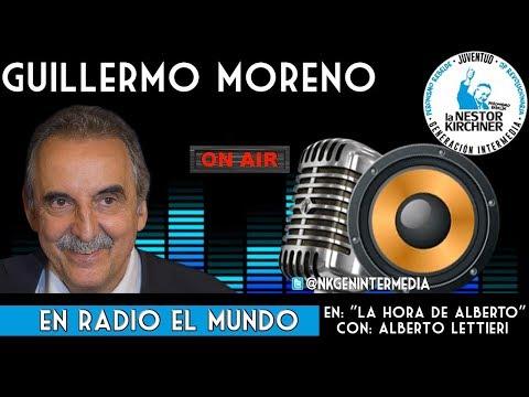 Guillermo Moreno Con Alberto Lettieri  AM 1070 06/09/19