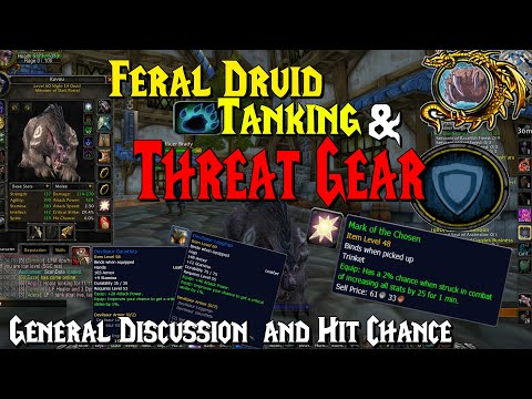 WoW Classic - Feral Druid Tanking (Bear) & Threat Gear, Discussion