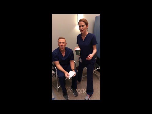 IG Stories Compilation\: Ellen Pompeo Jessica Capshaw and Camilla Luddington - Grey\'s Anatomy