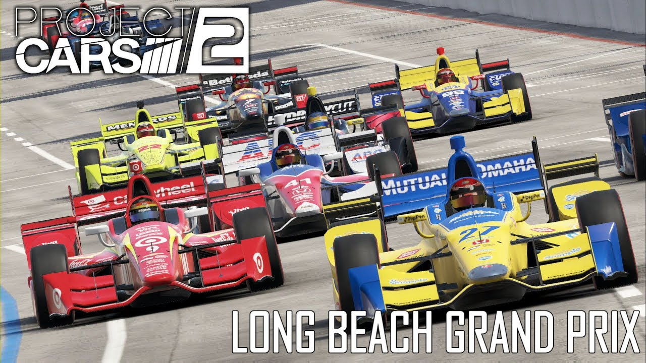 project cars 2 long beach grand prix youtube. Black Bedroom Furniture Sets. Home Design Ideas