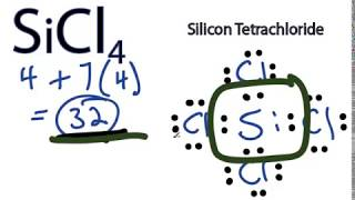 Sicl4 Lewis Structure