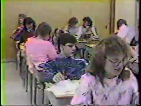 Jesup High School 1988 Video Yearbook