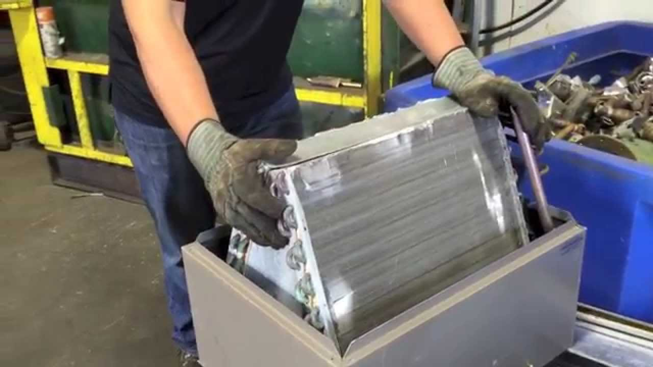Scrapping An A Frame Air Conditioner Youtube
