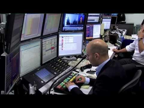 BNP CIB - Trading Day. Professional Forex Trading.