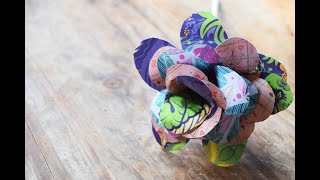 Creativity Connects: Make a Paper Flower