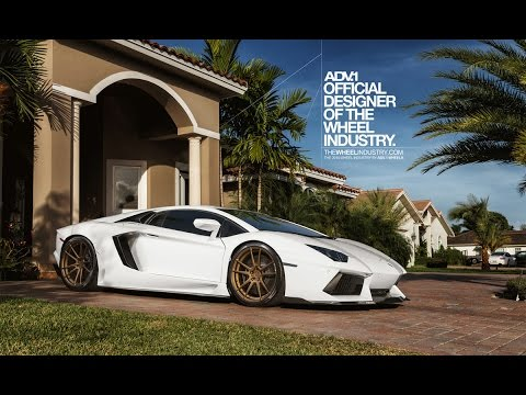 ADV.1 Wheels LP700 Aventador - A short film filled with awesome