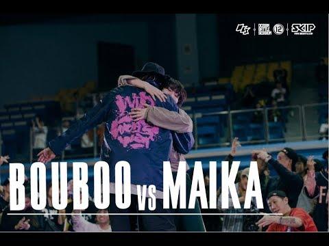 HipHop Final Battle:Bouboo vs Maika�04 OBS vol.12 Day3
