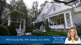 Atlanta, GA - Buckhead Estate - 3930 Tuxedo RD