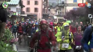 Marathon du Mont-Blanc 2014 - Départ du Marathon