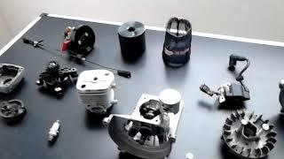 Preparation moteur 23 cc et 26 cc