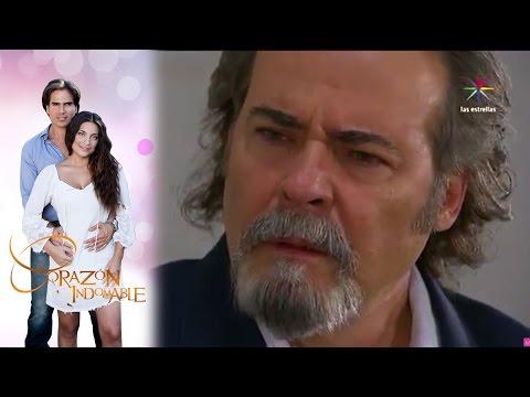 Maricruz le confiesa a Alejandro que es su hija   Corazón Indomable - Televisa