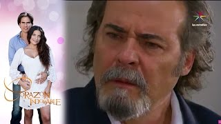 Maricruz le confiesa a Alejandro que es su hija | Corazón Indomable - Televisa