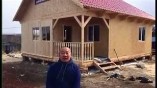 Калуга 2017 Строительство дома по канадской технологии