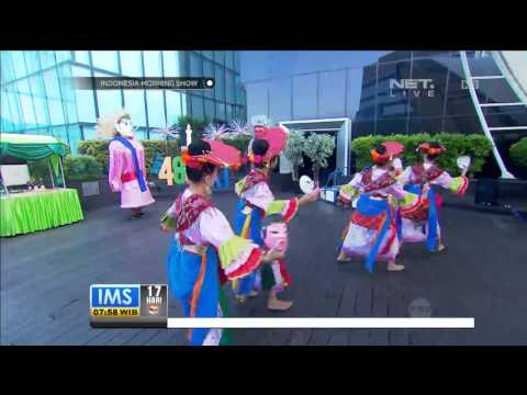 Pertunjukan Tari Topeng Betawi oleh Sanggar Tari Ayodyapala -IMS