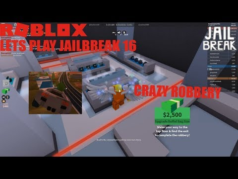 Roblox: Lets Play JailBreak Ep 16: CRAZY Jewelry Store Robbery