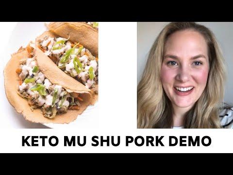 Whole30 + Keto Mu Shu Pork