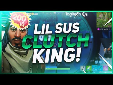 TSM Hamlinz - THEY DON'T LIKE LIL SUS... UNTIL HE CLUTCHES! (Fortnite BR Full Game)