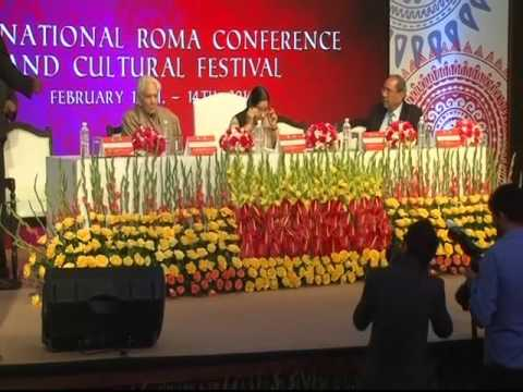Inauguration of International Roma Conference and Cultural F