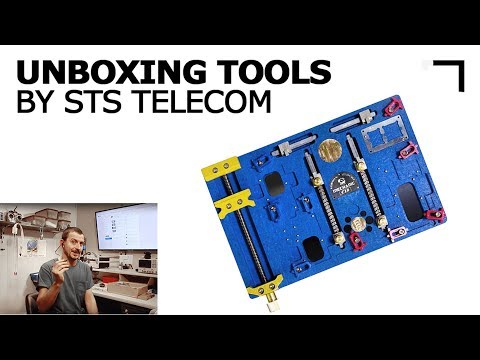 Unboxing Tools from Union Repair by STS Telecom