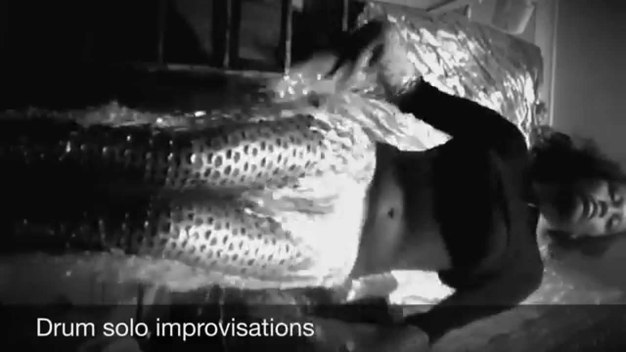 Belly drum solo improvisation Old video