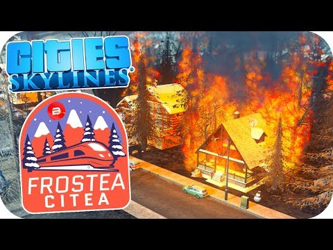 Will my Citizens EVER be HAPPY?! - Cities: Skylines ❄️Project Dam Snow!❄️#8