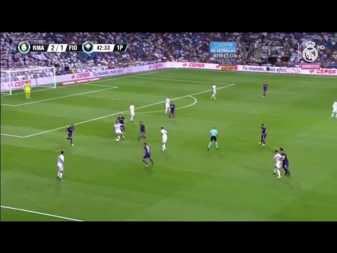 Real Madrid 2 - 1 Fiorentina